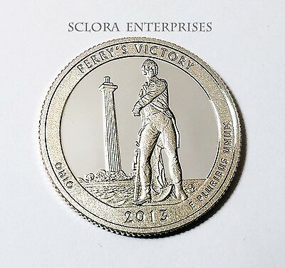 2013 S Perrys Victory *proof* Atb Quarter   **free Shipping**