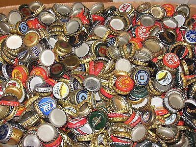 100 MIXED BEER BOTTLE  CAPS*** Special requests taken**WORLDWIDE CURRENT TO OLD