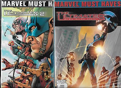 The Ultimates 1 & 2 Must Haves Featruing #1-#3 Lot (Vf/nm) Mark Millar