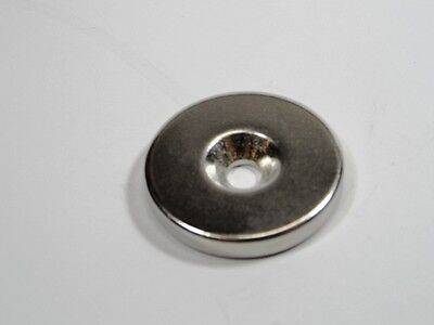 New Neodymium Rare Earth Powerful Disc Magnets N50 30 mm x 5 mm w/5 mm hole