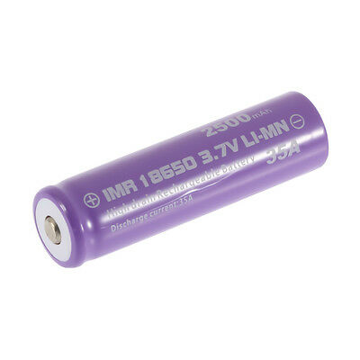 High Drain Rechargeable Battery 18650 35A 3.7v LI-MN 1000mAh Button Top M2