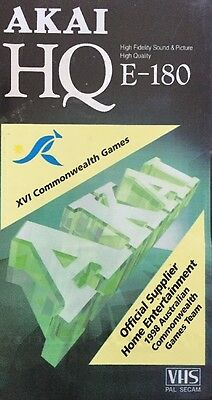 AKAI VHS VCR Video Tape Blank - E-180 by - 3hour High Performance New Sealed