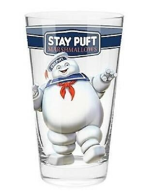 Ghostbusters Stay Puft Marshmallow Man Conical Glass