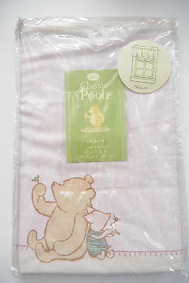 Disney Classic Pooh Valance Girl One Panel 60 in x 15 in