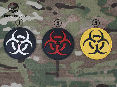 EMERSON Resident Evil PVC Patch Tactical Hunting Airsoft SWAT 3D Badge EM5526
