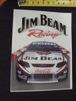 jim beam -racing sticker -car sticker