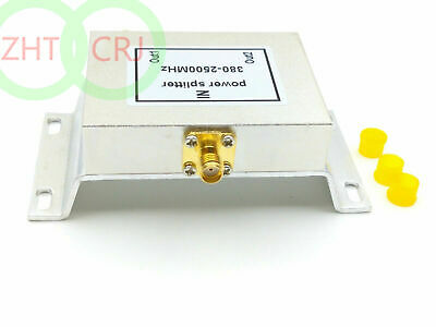 2 Ways booster SMA Power Splitter (380-2500MHz) SMA power divider booster