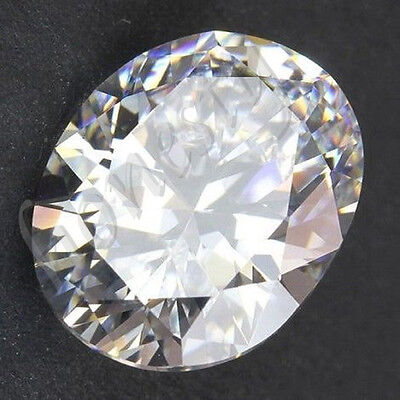 1pcs Huge 50.40ct 18X25mm White Sapphire Oval Shape Loose Gemstone HOT