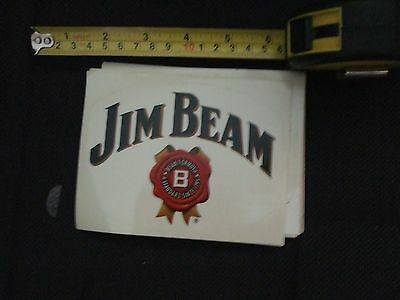 jim beam logo sticker