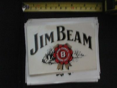 jim beam logo with background sticker