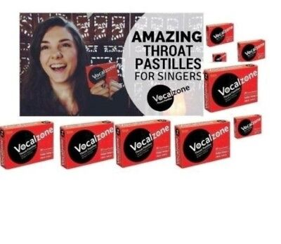 Vocalzone Throat Pastille Tablets 24