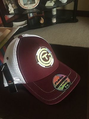 The Caddy Guy Maroon and White ActiveCap