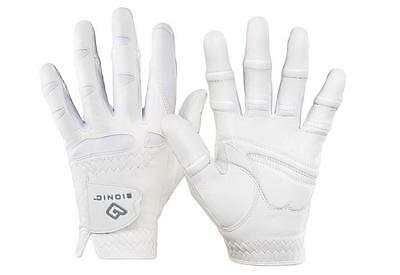 Bionic StableGrip with Natural Fit Golf Glove - Women, White