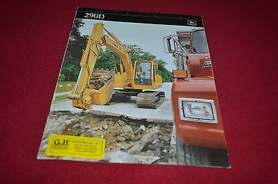 John Deere 410B 510B 710B Backhoe Loader Dealer/'s Brochure DCPA2