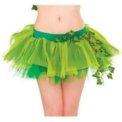 DC COMICS Licensed POISON IVY TuTu SKIRT Costume PROP One Size COSPLAY
