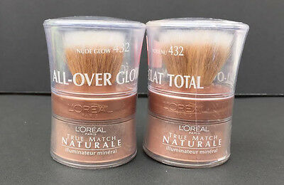 2 L'oreal Paris True Match All-Over Mineral Glow #432 Nude Glow