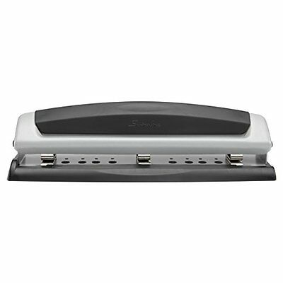 Swingline Desktop Hole Punch, Precision Pro, 2 - 3 Holes, Adjustable Centers, 10
