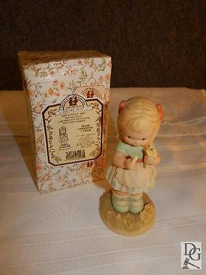 """He Loves Me 1999 Memories Of Yesterday Figurine In Box 6"""" Tall"""