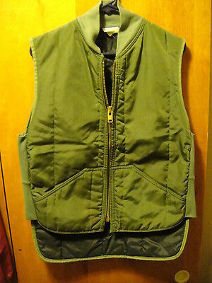 RefrigiWear New York ~ Vintage ~ Small ~ Insulated Vest ~ USA MADE