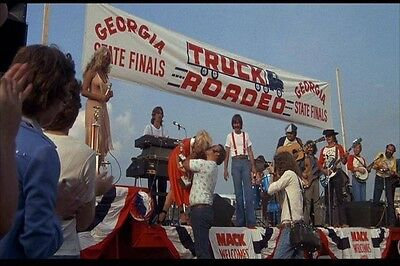 Smokey and the Bandit Garage Shop Banner Tribute Snowman Truck Roadeo