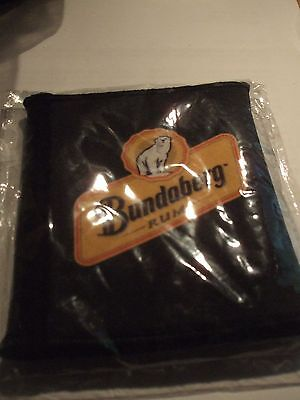 bundaberg rum black wetsuit flat cooler with photo pocket