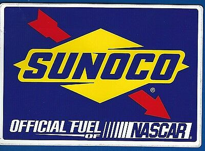Sunoco Racing Fuel Sticker - New Nascar