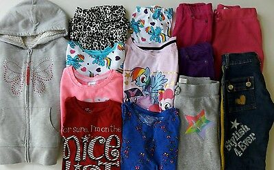 Girls Size 7-8 Fall Clothes Lot Of 13 Items School Clothes L1-16