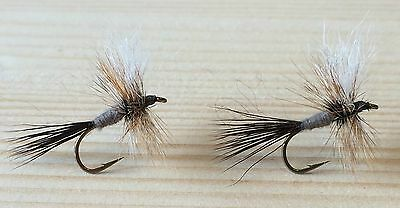 Lot of 2 Irresistible Wulff Trout Dry Flies