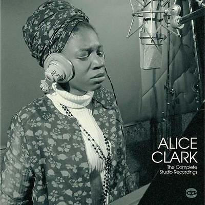 ALICE CLARK The Complete Studio Recordings NEW WHITE VINYL LP (BGP) SOUL FUNK