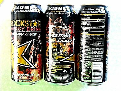 2015 FULL USA Can 16 oz ROCKSTAR ENERGY ~ MAD MAX ~ THE GAME EDITION