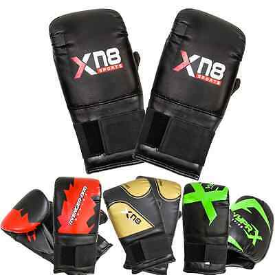 New Gel Pro Bag Mitts Boxing Gloves MMA UFC Muay Thai Training Grappling Punch