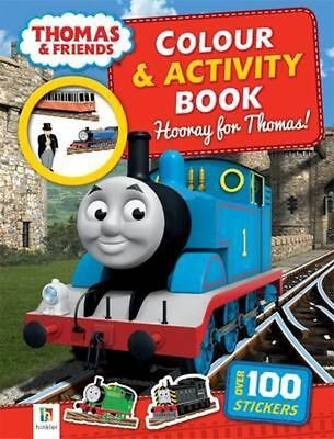 Thomas and Friends Colour and Activity Book: Hooray Paperback Book