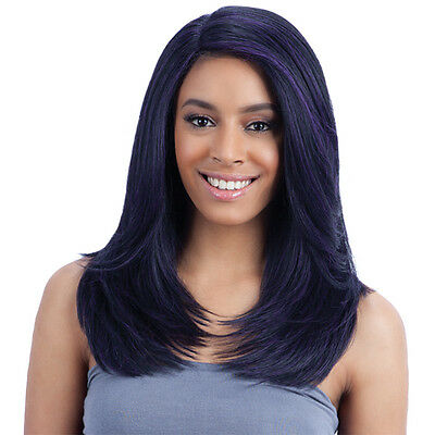 Freetress Equal Synthetic Hair Lace Deep Invisible LPart Lace Front Wig - JANNIE