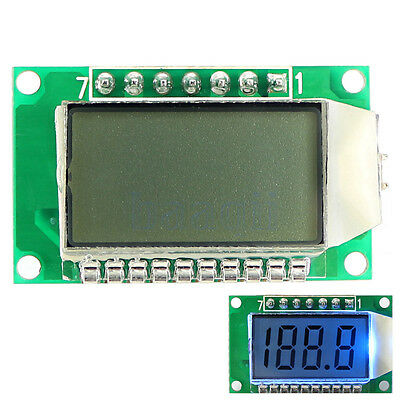 3.5-Digit 7 Segment LCD Display Module With Blue Backlight for Arduino Board DA