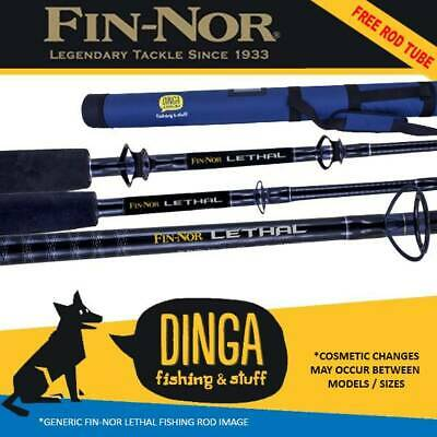 Fin-Nor Lethal Spin & Overhead Fishing Rods