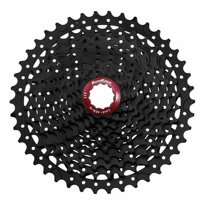 Sunrace MX3 Mountain Bike Bicycle Shimano 10 Speed Cassette 11-42T Black