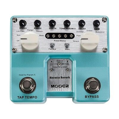 NEW Mooer Pro Twin Reverie Reverb Guitar Effects Pedal