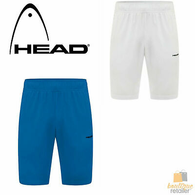HEAD Men's Stir Tennis Shorts Elastisized Waist Lightweight Drawstrings New