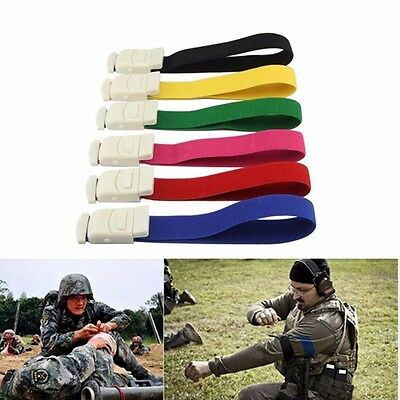 Emergency Tourniquet Buckle Quick Slow Release Medical Paramedic Outdoor Sport