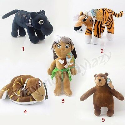 The Jungle Book Bagheera/Shere Khan/Mowgli/Kaa/Baloo Soft Plush Stuffed Doll Toy