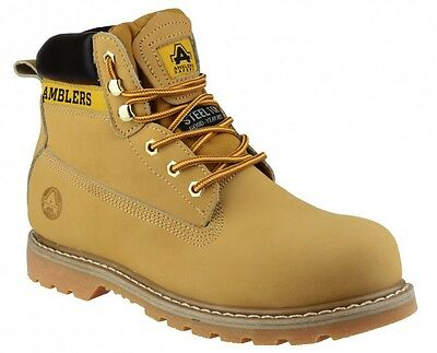 Amblers FS7 Safety Boots With Steel Toe Caps & Midsole Mens & Ladies Sizes
