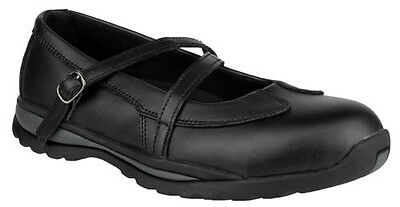 Amblers FS55 Ladies Safety Shoe With Steel Toe Caps & Midsole