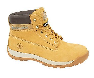 Amblers FS102 Safety Boots  With Steel Toe Caps & Midsole