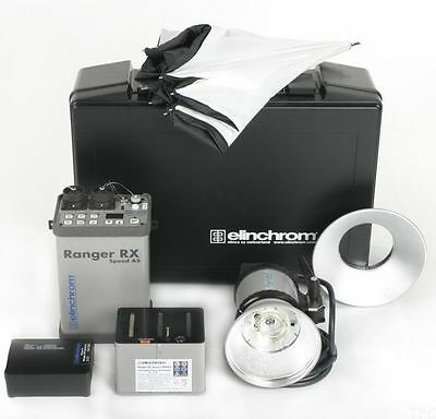 Elinchrom Ranger RX Speed AS Pro Set with A Head *NEW*