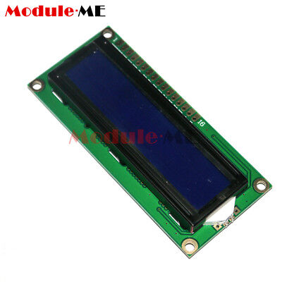 NEW LCD1602 3.3V Blue Backlight 16*2 Lines White Character LCD module 1602A ME