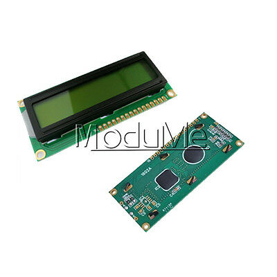 NEW LCD1602 3.3V Yellow Backlight 16*2 Lines White Character LCD module 1602A ME