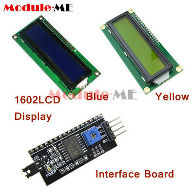 LCD Display Module LCM blue blacklight Character 1602 16x2 HD44780 3.3V 5V UK