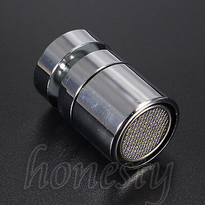Chromed 22mm Swivel Water Saving Tap Aerator Faucet Nozzle Spout Filter Adapter