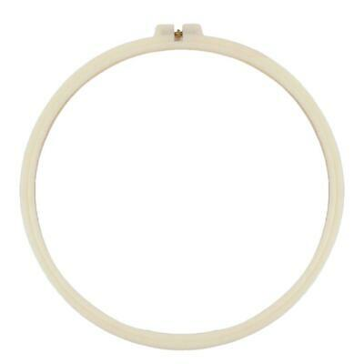 White Needlework Embroidery/Cross Stitch/Quilting Hoops