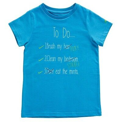 Harry Hall - Junior 'To Do' T Shirt - Horse Riding T-Shirt - Methyl Blue or Pink